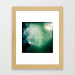 Below Framed Art Print