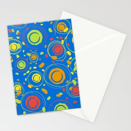 Patio Lantens Blue Stationery Cards