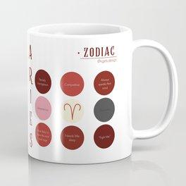 Aries Zodiac Sign Personality  Coffee Mug