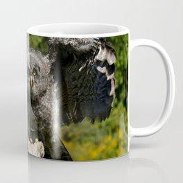 Baby Great Gray Owl Coffee Mug