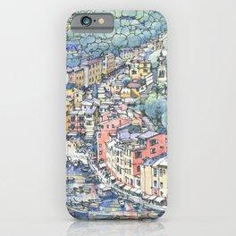 Portofino dal mare iPhone Case