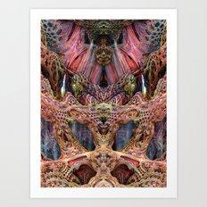 Neptunes Court Art Print