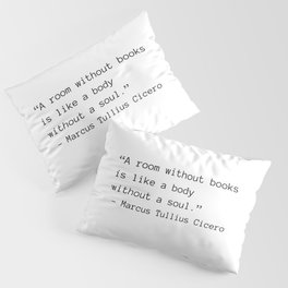 A Room Without Books Pillow Sham