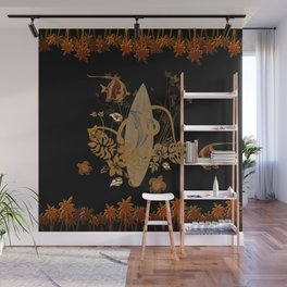 Hawaiian, tropical design Wall Mural