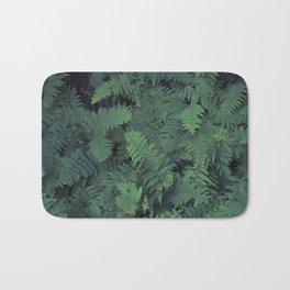 Fern Leaf Pattern Bath Mat