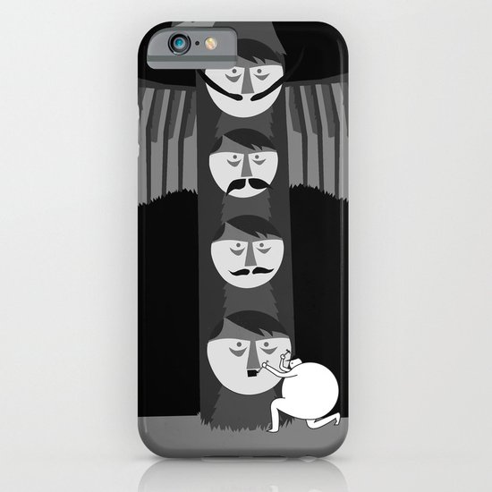 If Hitler made a Totem pole, I think it would of looked a little like this... iPhone & iPod Case