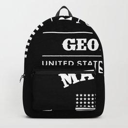Macon Georgia USA Backpack