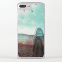 Solar Plexus Clear iPhone Case