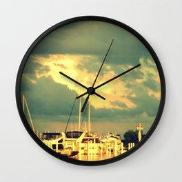 Ready For A Sail Wall Clock