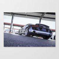 audi Canvas Prints featuring Audi R8 by Tom England