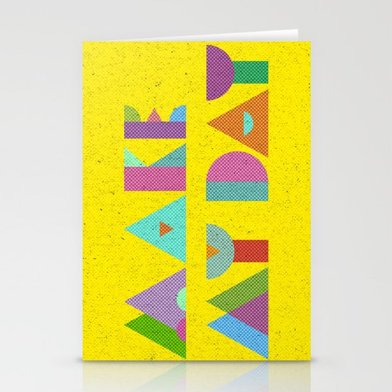Make My Day. Stationery Cards