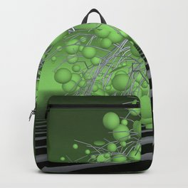 the lightgreen tree Backpack