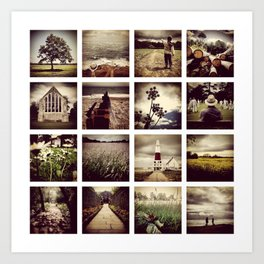 Instadeck South England Art Print