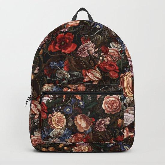 Vintage Summer Floral Backpack