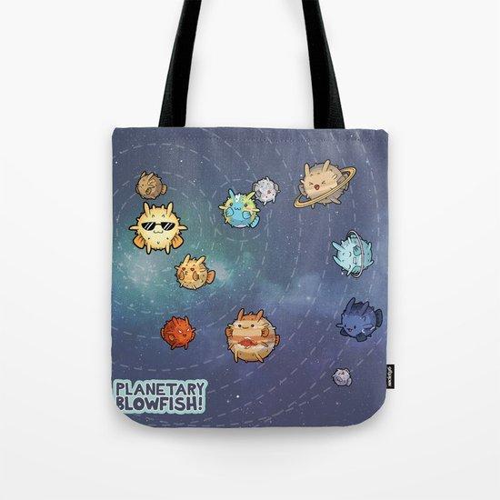 Planetary Blowfish by bytesizetreasure