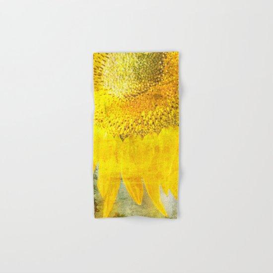 Sunflower Hand & Bath Towel