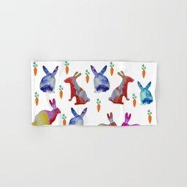 Rabbits Joy Hand & Bath Towel