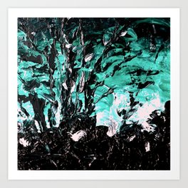 The Tree that is No More Art Print