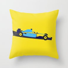 Alonso Renault F1 Throw Pillow