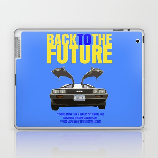 Back To The Future Laptop & iPad Skin