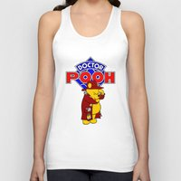 pooh Tank Tops featuring Doctor Pooh by cû3ik designs