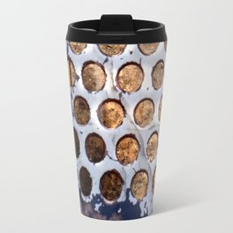 More Metal Dots Travel Mug