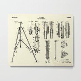 Camera Stand or Tripod-1942 Metal Print