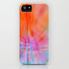 Abstract Big Bangs 002 iPhone Case
