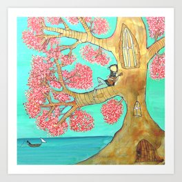 Uke Tree Art Print