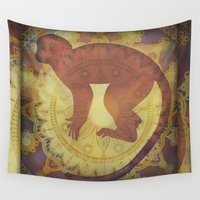 journey Wall Tapestries featuring Journey by SpaceFrogDesigns