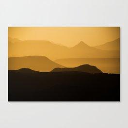 Namibian Dawn II Canvas Print