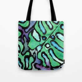 reticulated leaves Tote Bag