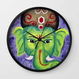 Ellie Phant Wall Clock