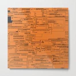 Designer Dialogues AI Yellow Metal Print