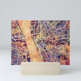 Liverpool England Street Map Mini Art Print