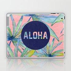 Aloha - pink version Laptop & iPad Skin