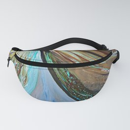 Peacock Trail Fanny Pack