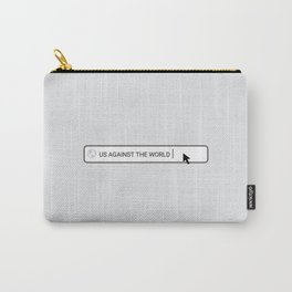 US AGAINST THE WORLD Carry-All Pouch