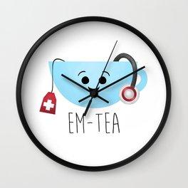 EM-Tea Wall Clock