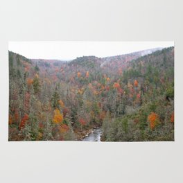 Fall Forest, Horizontal Rug