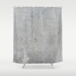 Concrete wall texture Shower Curtain