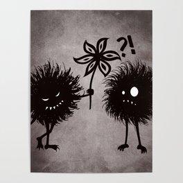 Kind Evil Bugs Poster