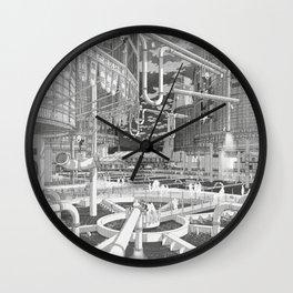 Frackpool 01 Wall Clock