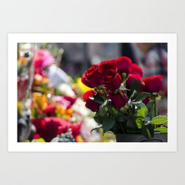 Bouquet of Love Art Print