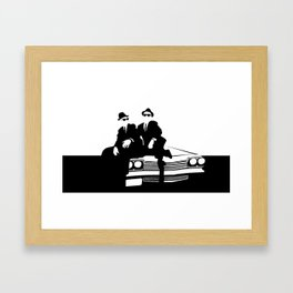 Blues Brothers Framed Art Print