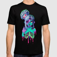 Nega Z-Cutie Black LARGE Mens Fitted Tee
