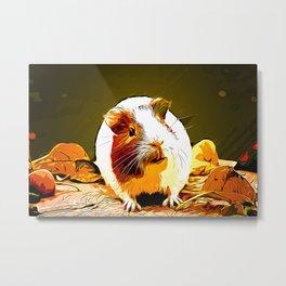 guinea pig va std Metal Print