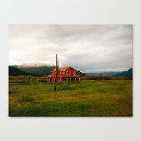 alaska Canvas Prints featuring Alaska by Julia Blanchette