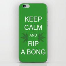 Keep Calm and Rip a Bong iPhone Skin