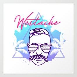Westache in Miami Art Print